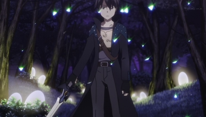 A picture of Kirito's hardened exterior, if you know what I mean.