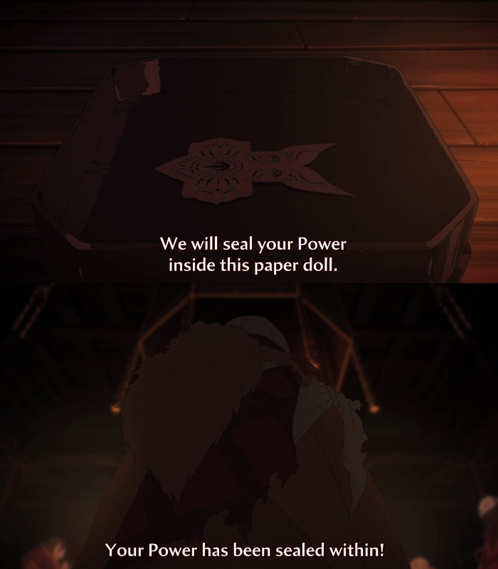 CrunchyRoll's translation of Juryoku, 'Power'.